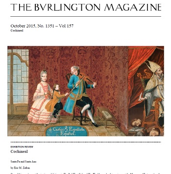 The Burlington Magazine Cochineal