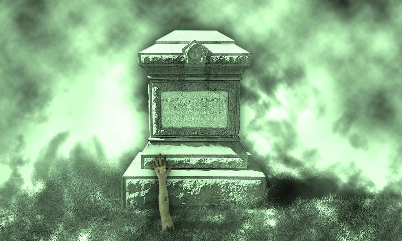 Take No Grave Image: Tombstones and Caskets of the Bowers' Collections