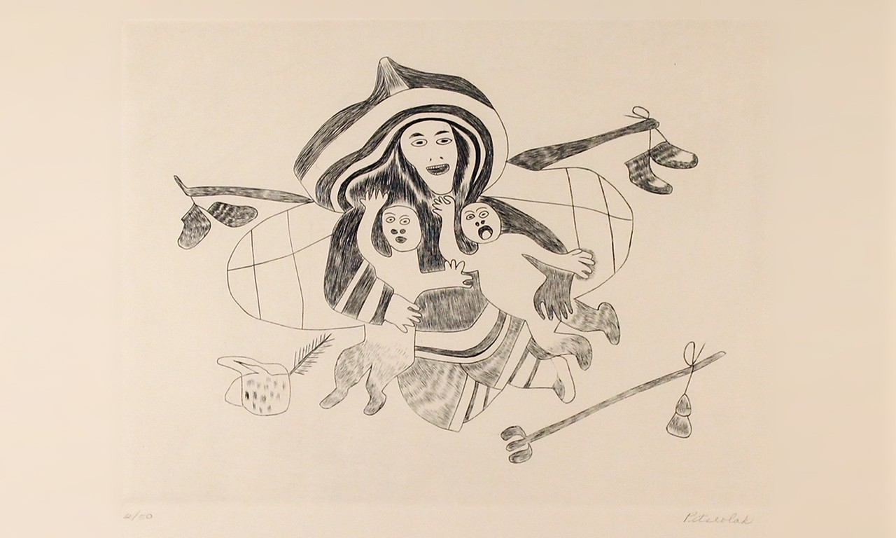 Cold-Press: Prints by Three Inuit Artists