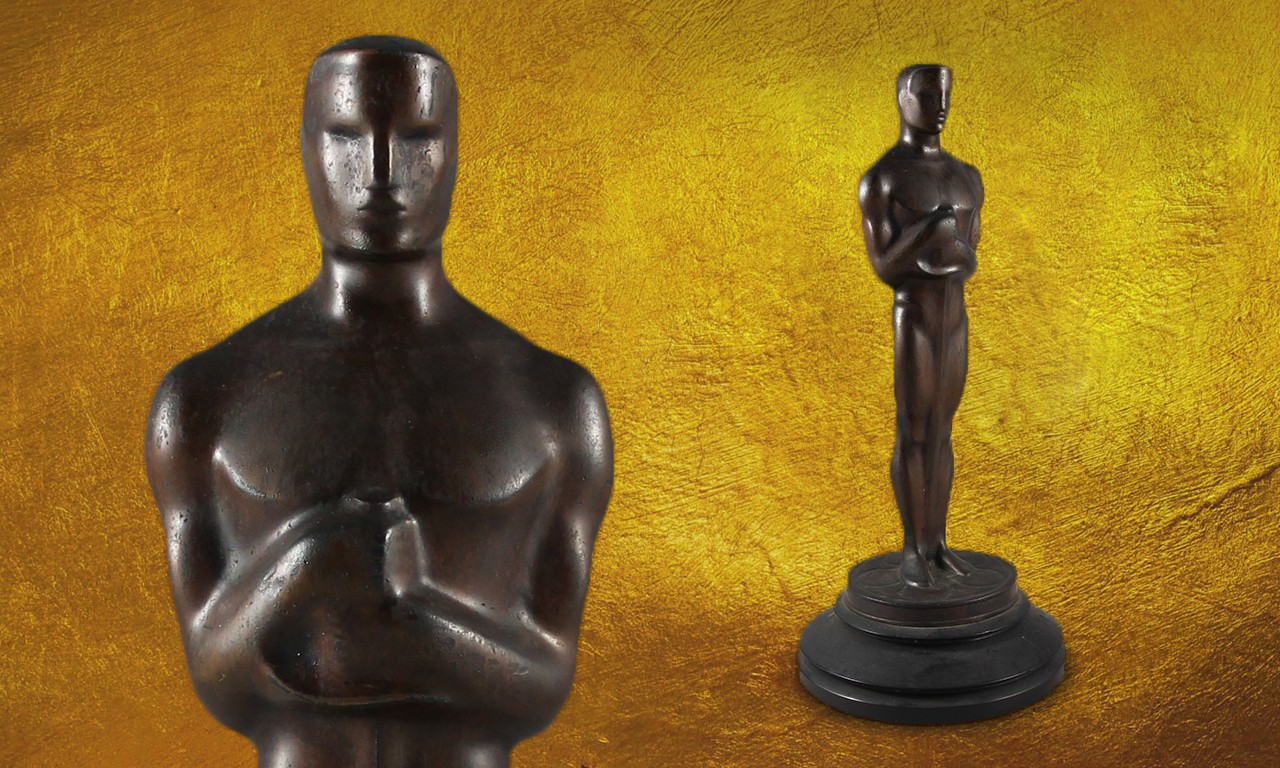 The Ungilded Man: One of the First Oscars