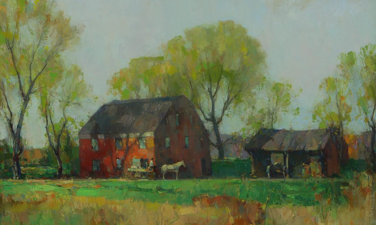Walter Granville-Smith: Colorizing the Season