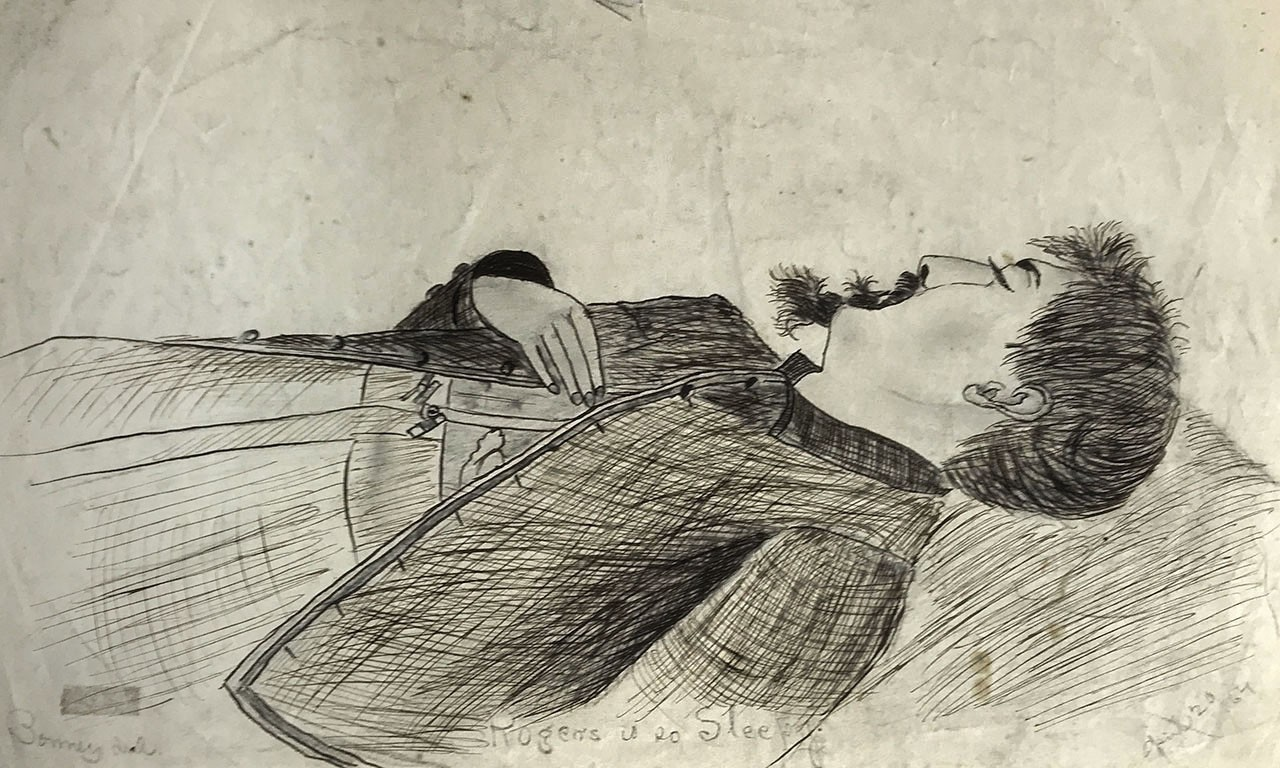 The Bonney Sketch Artist: Avoidant Glimpses of the Civil War
