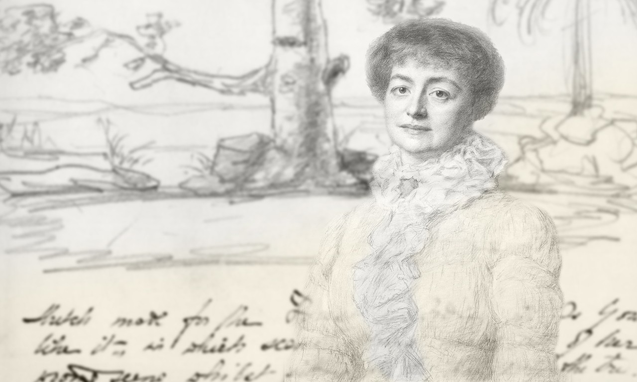 As She Sketched It: Artworks by and for Madame Modjeska