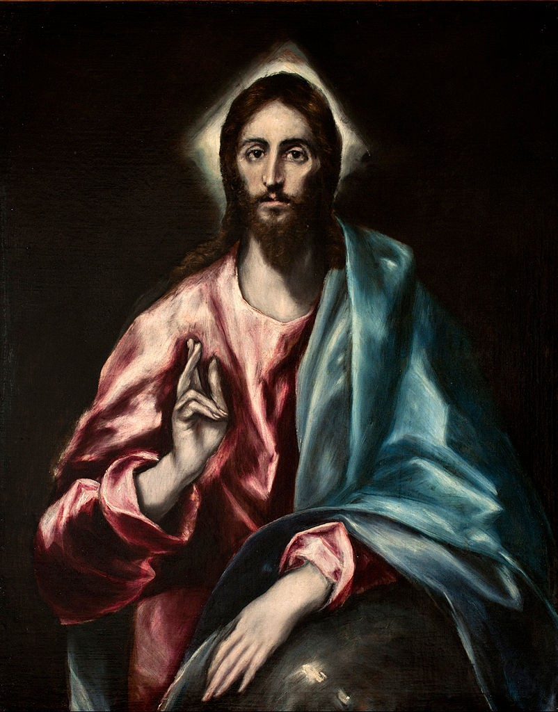 "El Greco's ""The Savior"" and Cochineal Red"