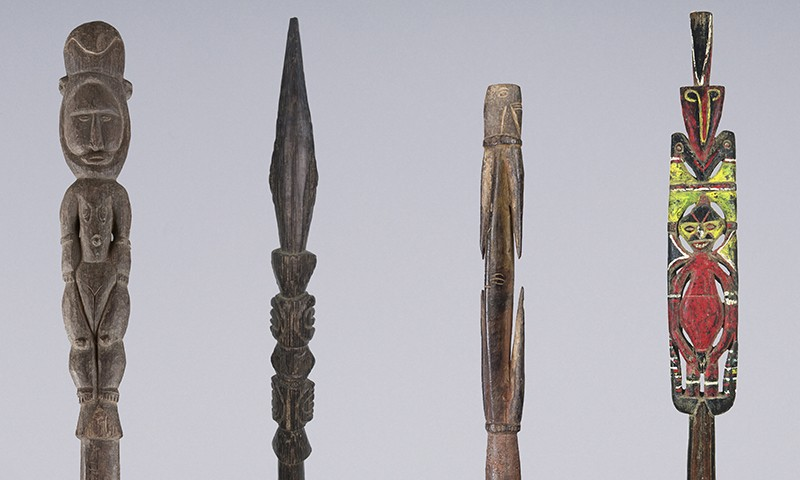 Yam Digging Sticks of the Abelam