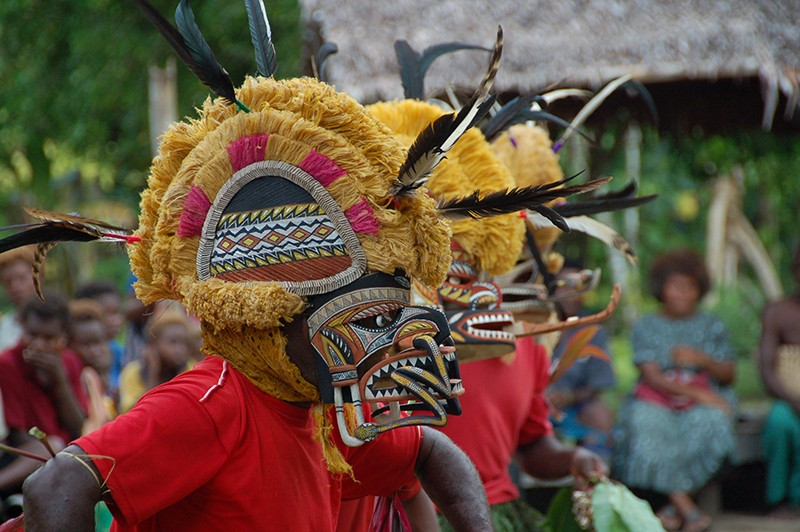 Death and the Ideal Man: New Ireland Tatanua Masks