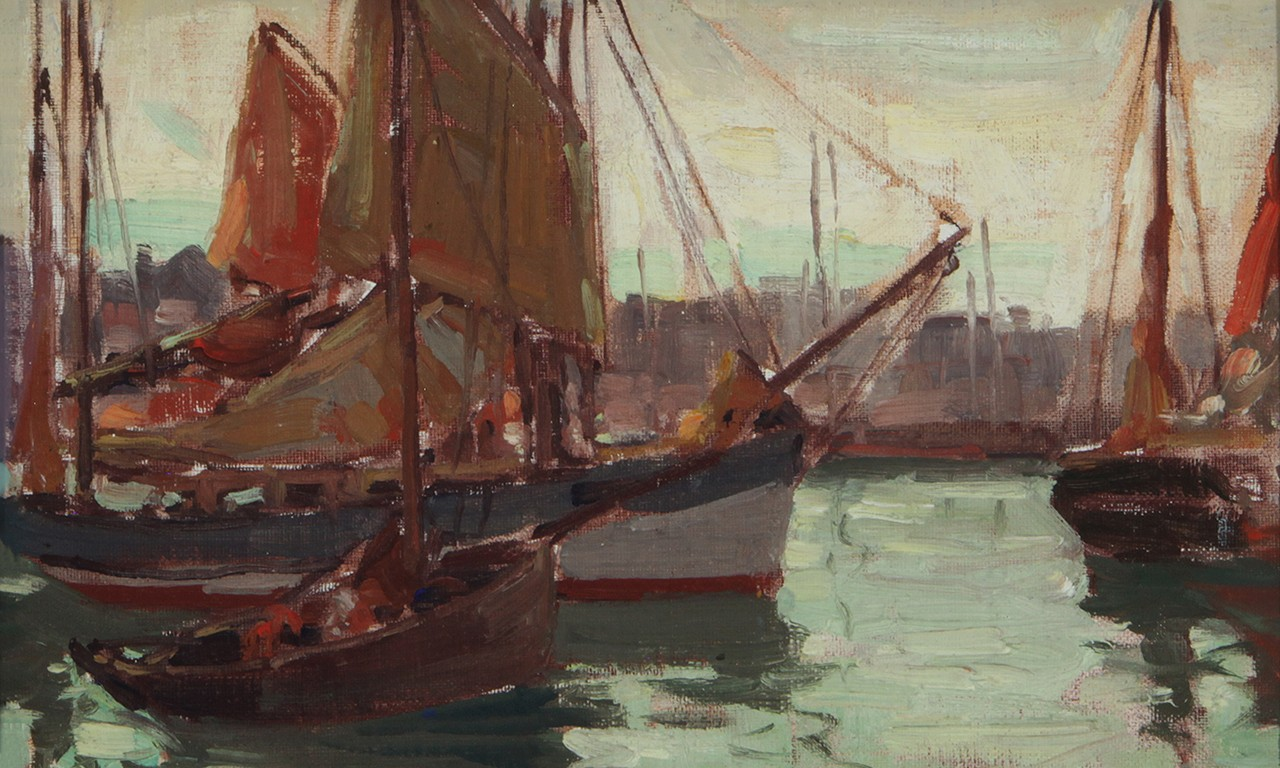 Thanks for the Memories: Brittany Boats Painted by Edgar Payne
