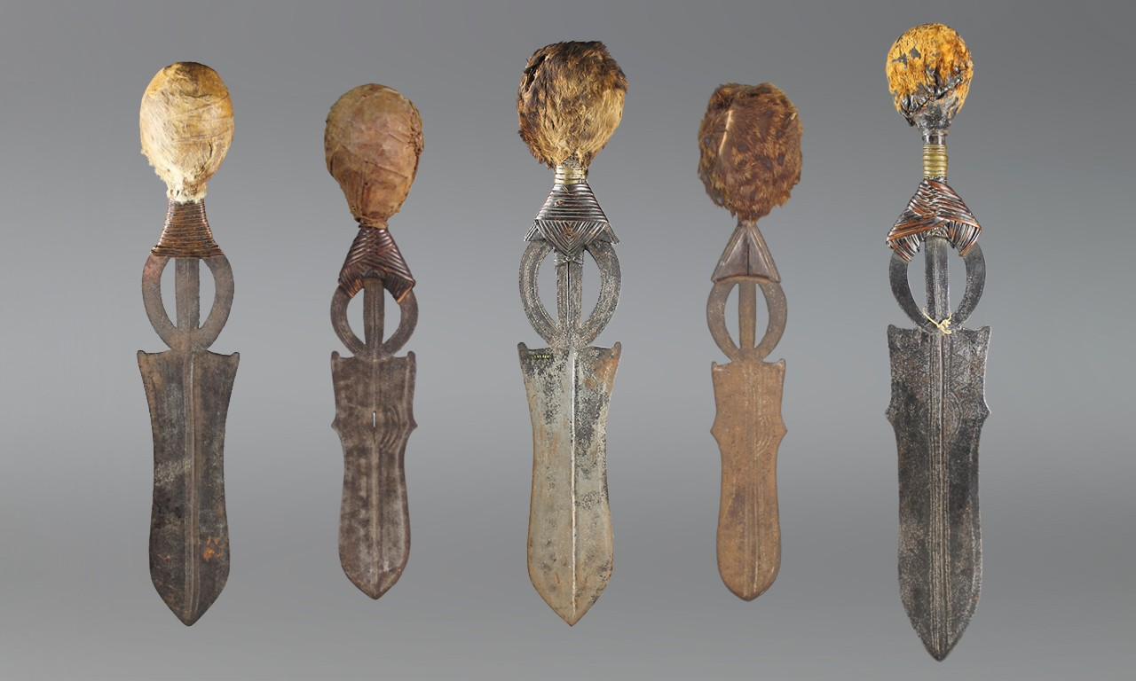 All Swords of Things: Five Decorative Short Swords from the Congo