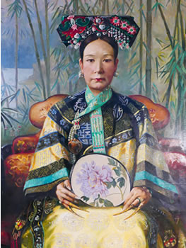 bowers museum empress dowager cixi selections from the summer palace