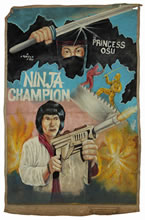 Reel Art: Movie Posters from Ghana