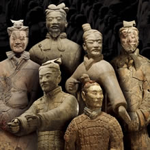 The Terra Cotta Warriors