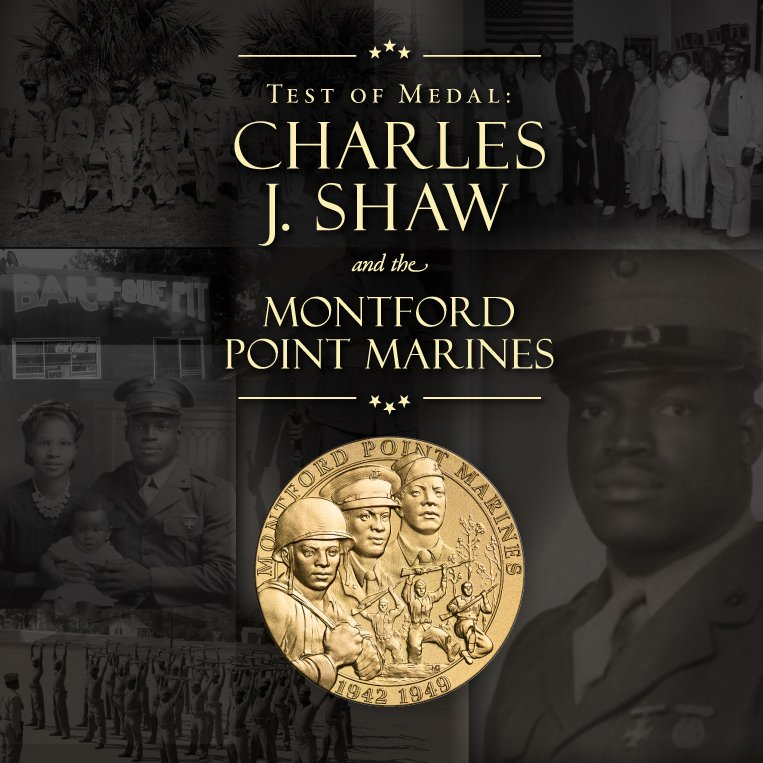 Test of Medal: Charles J. Shaw and the Montford Point Marines