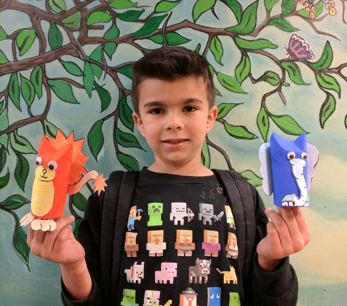 Recycle Paper Animals