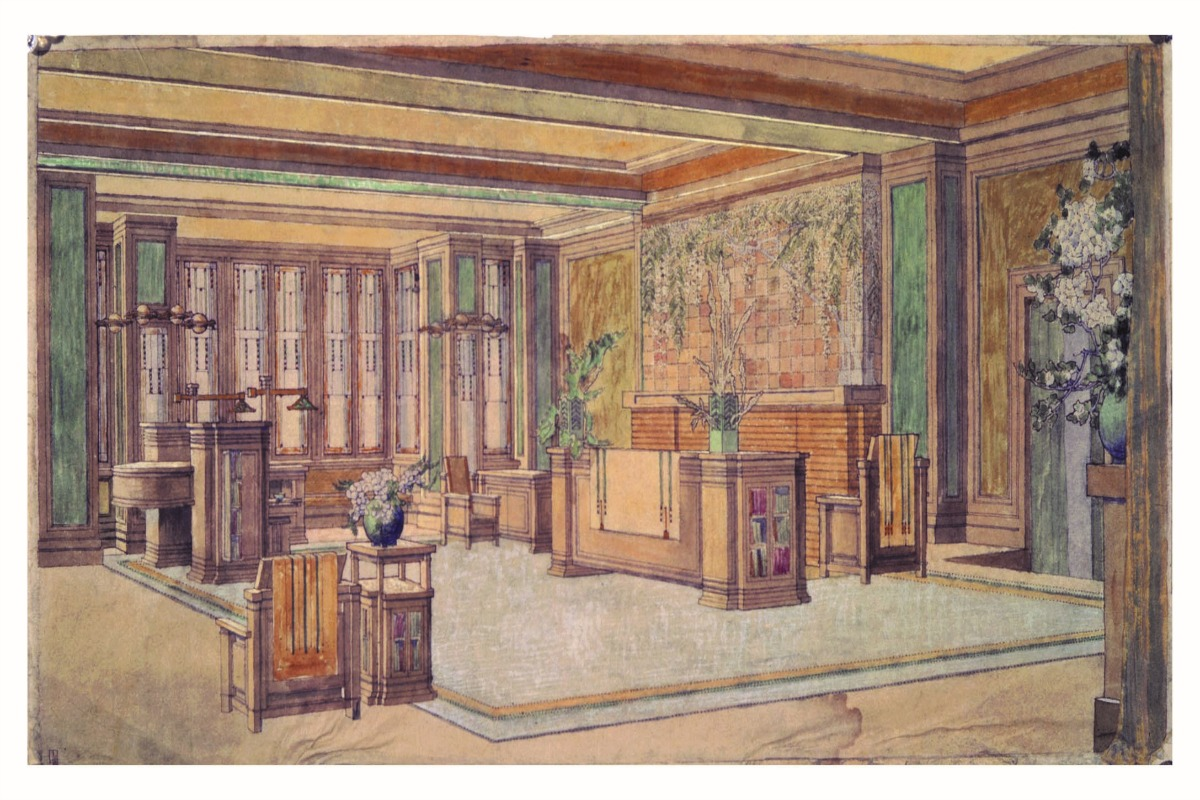 FRANK LLOYD WRIGHT: Architecture Of The Interior OPENING LECTURE