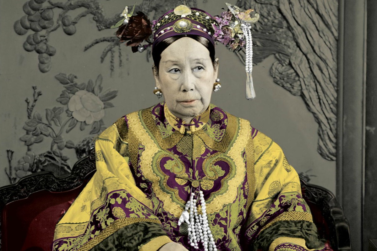 Image result for photo of empress dowager cixi