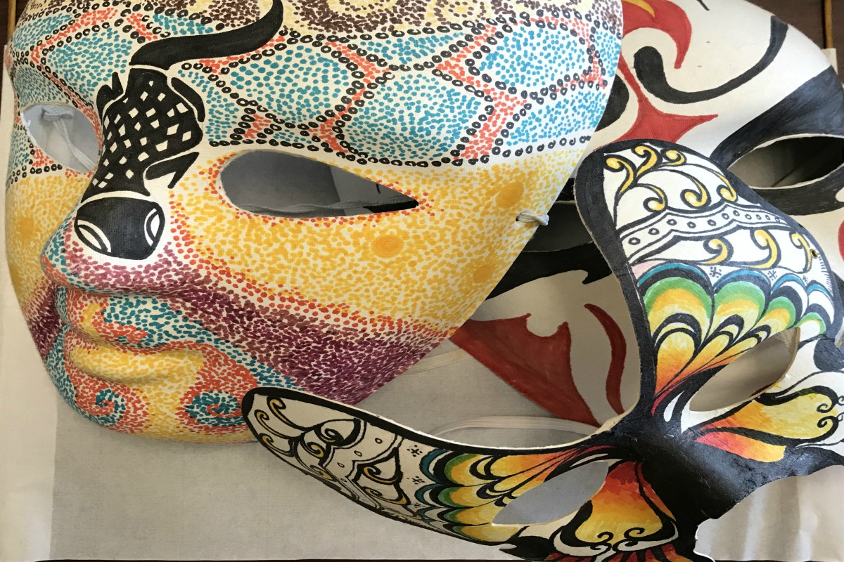 Anne's Treasures | Papier mache Masks
