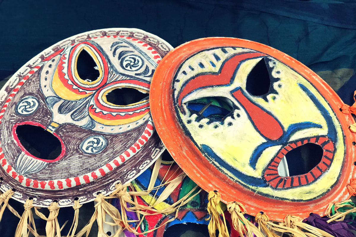 Pacific Island Masks