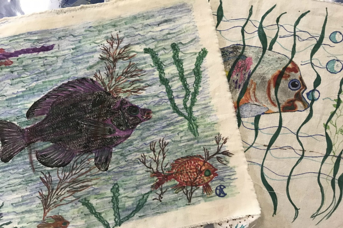 Anne's Treasures | Japanese Fish Prints