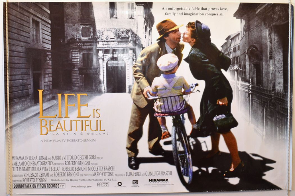 Cinema Italiano: Life Is Beautiful (1997, 122 min)