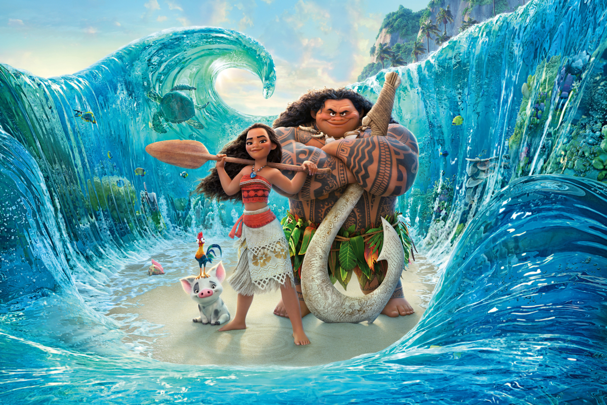 Outdoor Movie Screening - Moana (2016, 113 mins.)