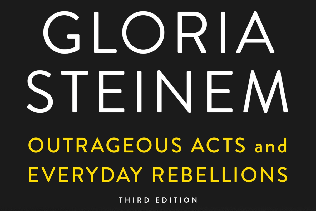 An Evening with Gloria Steinem: Presentation and Book Signing