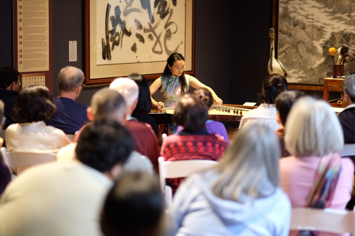LA China Week Celebration: Guzheng in the Galleries