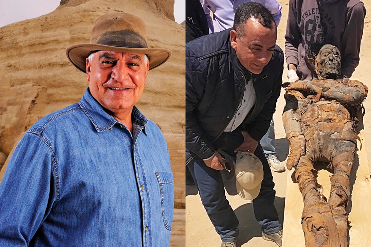 Famed Egyptologist Dr. Zahi Hawass and Dr. Mostafa Waziri, Egypt's General Director of Antiquities: Presentation and Book Signing