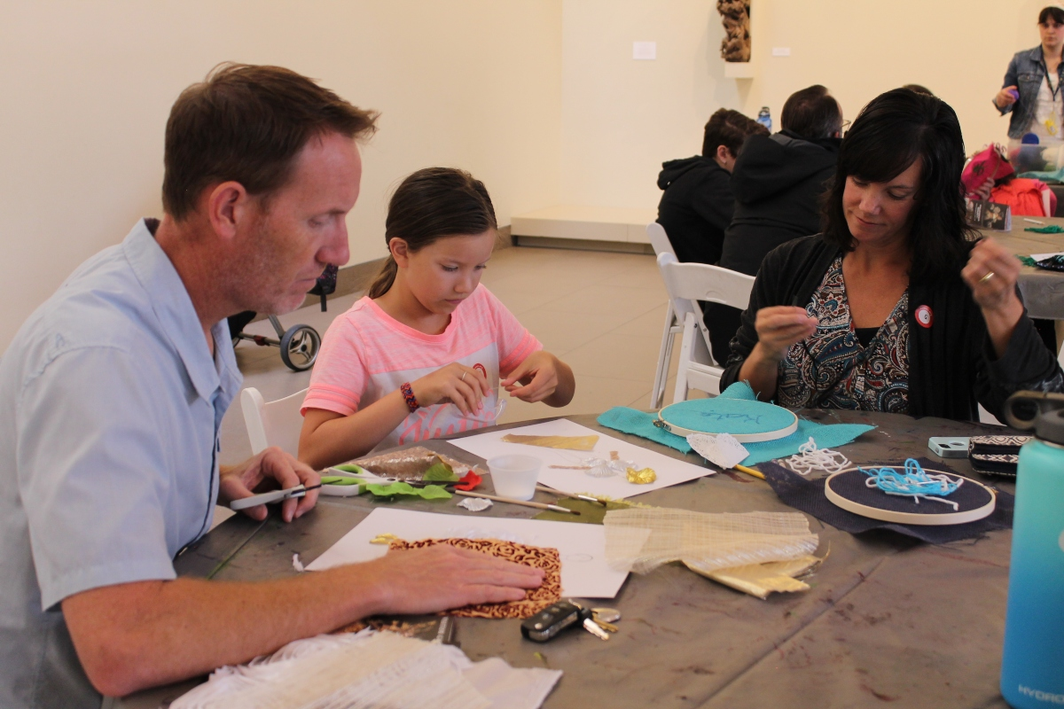 Family Fashion Workshop: Embroidery & Tie-Making (Father's Day Special)