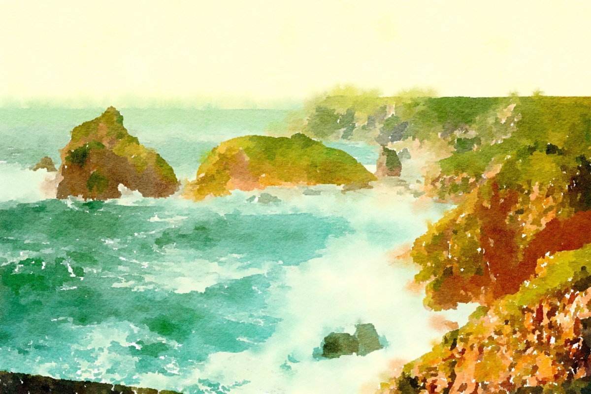 Anne's Treasures: Watercolor Seascapes