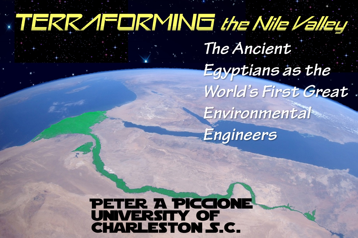 ARCE: Terraforming the Nile Valley with Dr. Peter Piccione