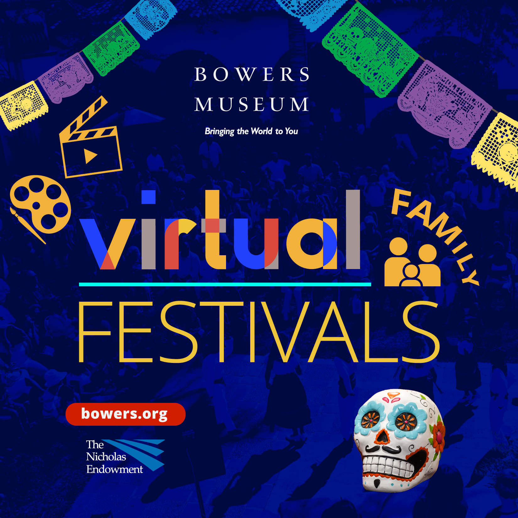 Virtual Festival of Mexican Day of the Dead