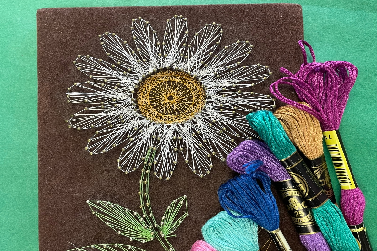 Art Kits for Pickup, Presented by Anne's Treasures- String Art